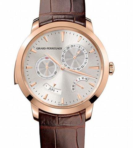 Orologio Girard-Perregaux 1966 Ripetizione minuti Calendario annuale Equazione del tempo #11592