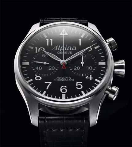 Orologio Alpina Aviation Pilot Chronograph #11262