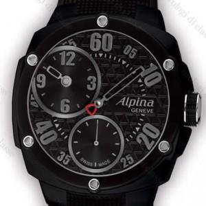 Immagine orologio Alpina modello Extreme Regulateur Double Digit Full Black