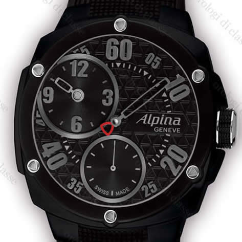 Orologio Alpina Extreme Regulateur Double Digit Full Black #10640