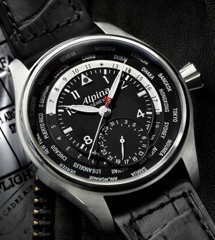 Orologio Alpina Worldtimer Manufacture #11527