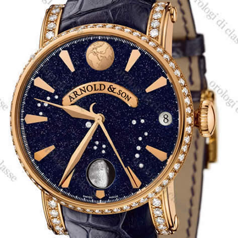 Orologio Arnold & Son True Moon Aventurine #5438