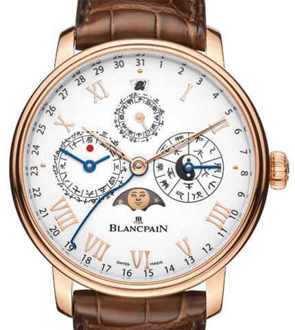 Orologio Blancpain Villeret Calendrier Chinois Traditionnel #11461
