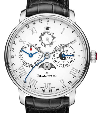 Orologio Blancpain Villeret Calendrier Chinois Traditionnel #11460