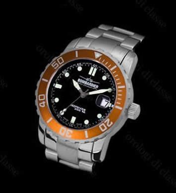 Orologio Bombardier Deep Diver Orange #5955