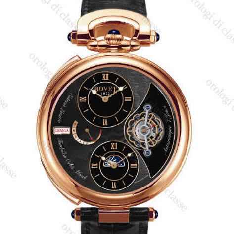 Orologio Bovet Fleurier Fleurier Complications Tourbillon Double Time Zone Orbis Mundi #6003