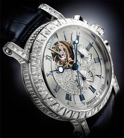 Orologio Breguet Marine Tourbillon Chronographe Haute Joaillerie #11208