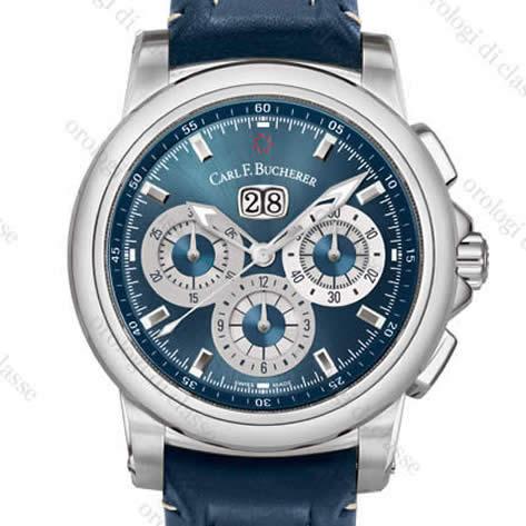Orologio Carl F. Bucherer Patravi ChronoData Blue Wave #6044