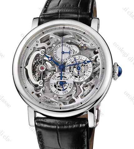 Orologio Cartier Rotonde Grande Complication Squelette #11068