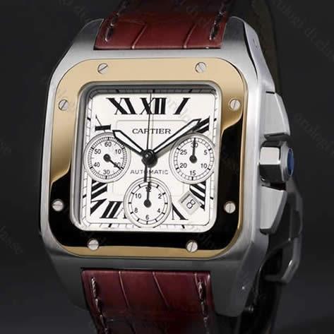 orologio cartier santos 100