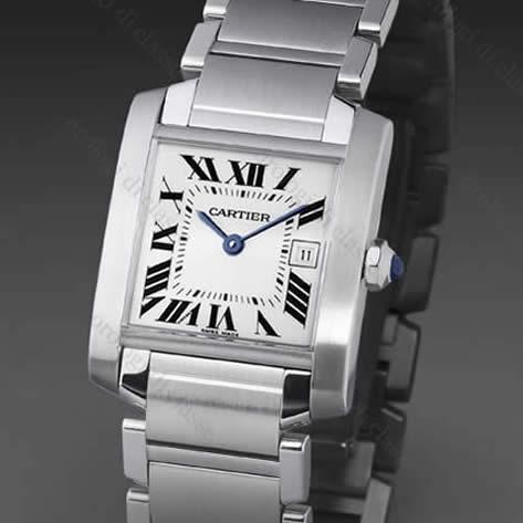 Orologio Cartier Tank Francaise Acciaio #6095