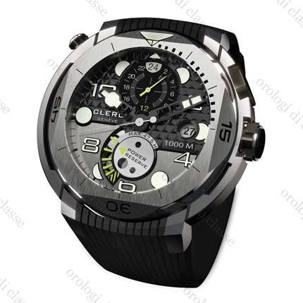 Orologio Clerc Hydroscaph GMT #11054