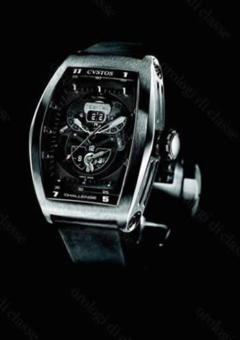 Orologio Cvstos Challenge TWIN-TIME ST BLACK #6432