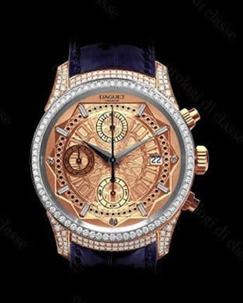 Orologio D'Aguet Genève Arabesk Imperial Bi color #6446