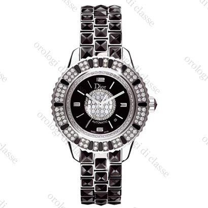 Orologio Dior Dior Christal Automatique Noire Diamants #6681