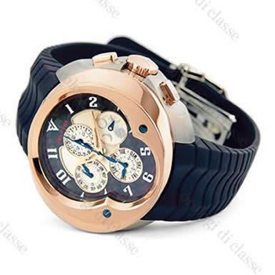 Orologio Franc Vila FVa9 Cronografo Master Calendario Automatico Grand Sport Titanio e Oro Rosso #6974