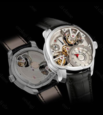 Orologio Greubel Forsey Quadruple Tourbillon Platino (Invention Piece 2) #11129