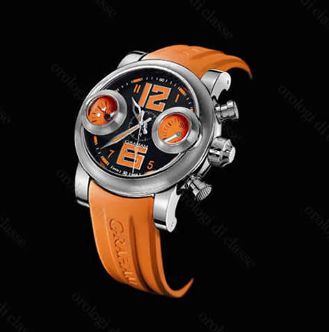 Orologio Graham Swordfish Orange Dial Right Version #10748