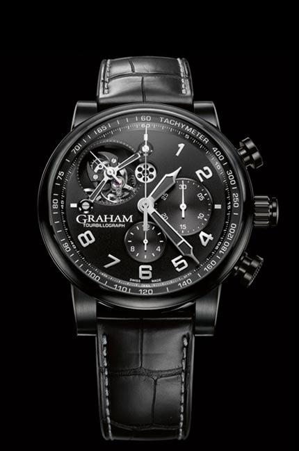 Orologio Graham Silverstone Tourbillograph Full Black #11248