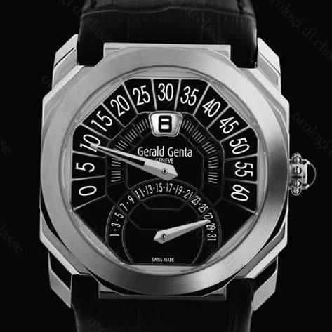 Orologio Gèrald Genta Octo Biretro Black Limited #7005