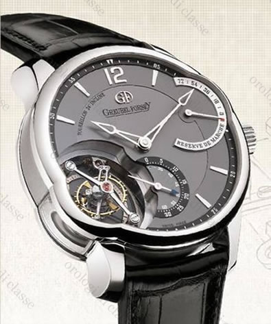 Orologio Greubel Forsey Invention Tourbillon 24 Secondes Inclinè #10753