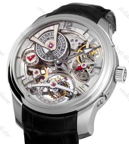 Orologio Greubel Forsey Double Tourbillon 30° Technique in Platino #11127