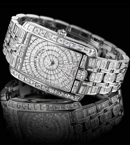 Orologio Harry Winston Avenue C Large #11291