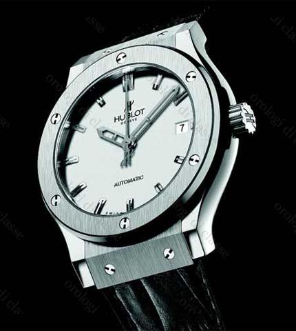 Orologio Hublot Classic Fusion quadrante Opaline 45 mm #11157