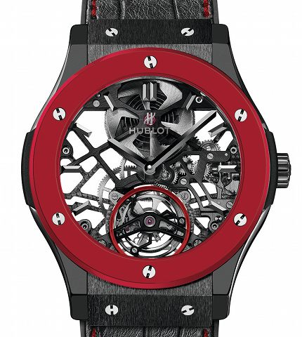 Orologio Hublot Red'n'Black Skeleton Tourbillon - Only Watch 2013 #11641