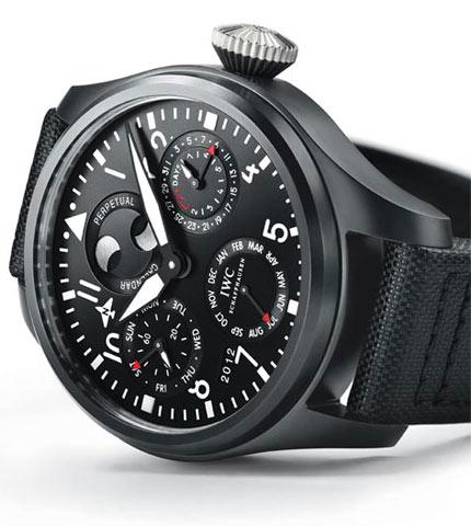 Orologio IWC Big Pilot's Watch TOP GUN Calendario Perpetuo #11367