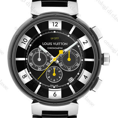 Orologio Louis Vuitton Tambour In Black #8570