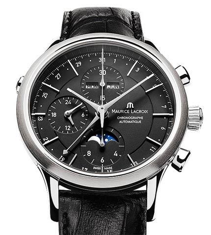 Orologio Maurice Lacroix Les Classiques Cronografo Fasi di Luna #11229