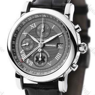 Orologio Montblanc Star XXXL Chronograph GMT Automatico #8751