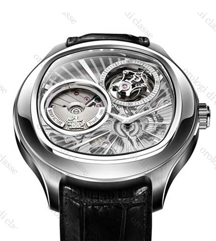 Orologio Piaget Emperador Coussin Tourbillon Automatico Extra-Piatto #11102