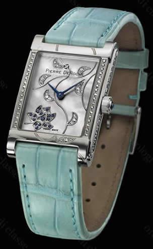 Orologio Pierre DeRoche Shiny Pebbles Saphira #9664