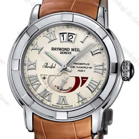 Orologio Raymond Weil Parsifal Automatic Large Data Power Reserve Indicator #10622