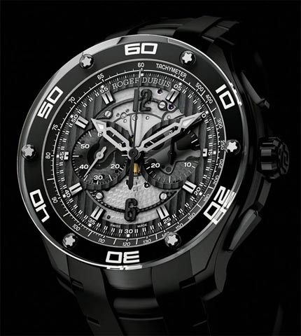 Orologio Roger Dubuis Cronografo Pulsion Titanio #11414