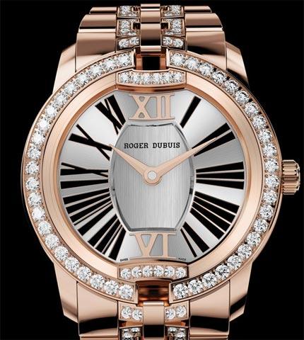 Orologio Roger Dubuis Velvet Oro rosa e diamanti #11361