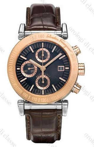 Orologio Salvatore Ferragamo Salvatore Automatic Gold Steel #9955