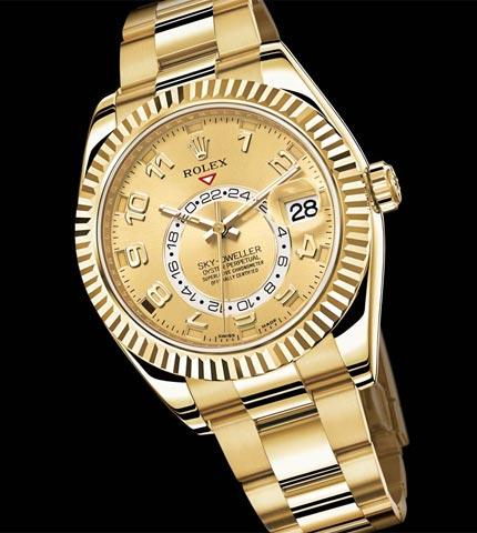 orologio d oro rolex