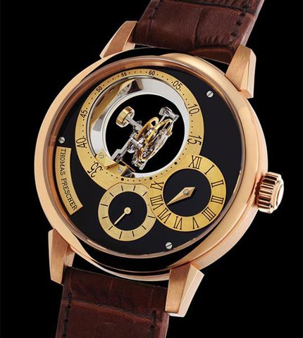 Orologio Thomas Prescher Triple Axis Tourbillon Regulator #11316
