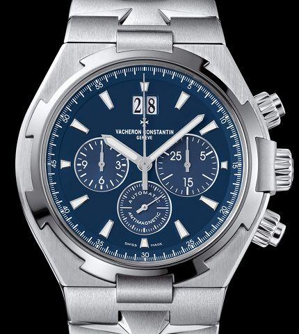 Orologio Vacheron Constantin Overseas Cronografo Blu #11571