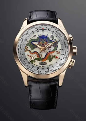 Orologio Vulcain Aviator GMT The Dragon #10396