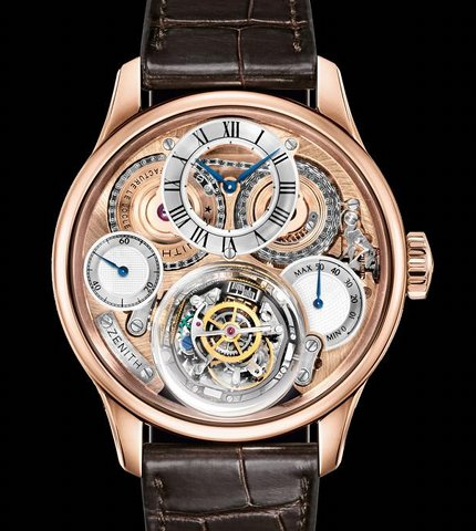 Orologio Zenith Accademy Christophe Colomb Huricane #11610