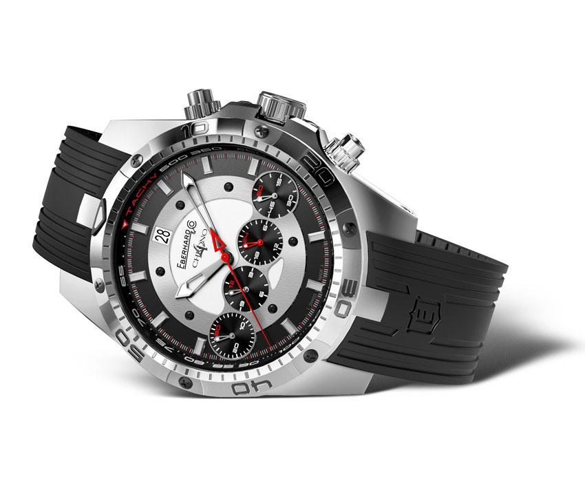 Orologio cronografo eberhard co chrono 4 badboy for Orologi artigianali svizzeri