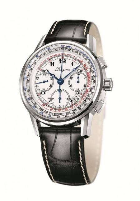 longines the longines tachymeter chronograph 450x643 The Longines Telemeter Chronograph e The Longines Tachymeter Chronograph
