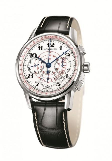 longines the longines telemeter chronograph 450x643 The Longines Telemeter Chronograph e The Longines Tachymeter Chronograph
