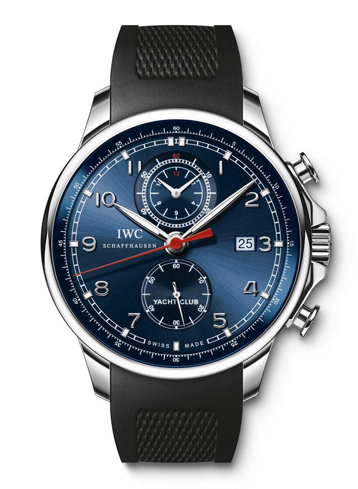 iwc portoghese yacht club chronograph edition  u201claureus sport for good foundation u201d