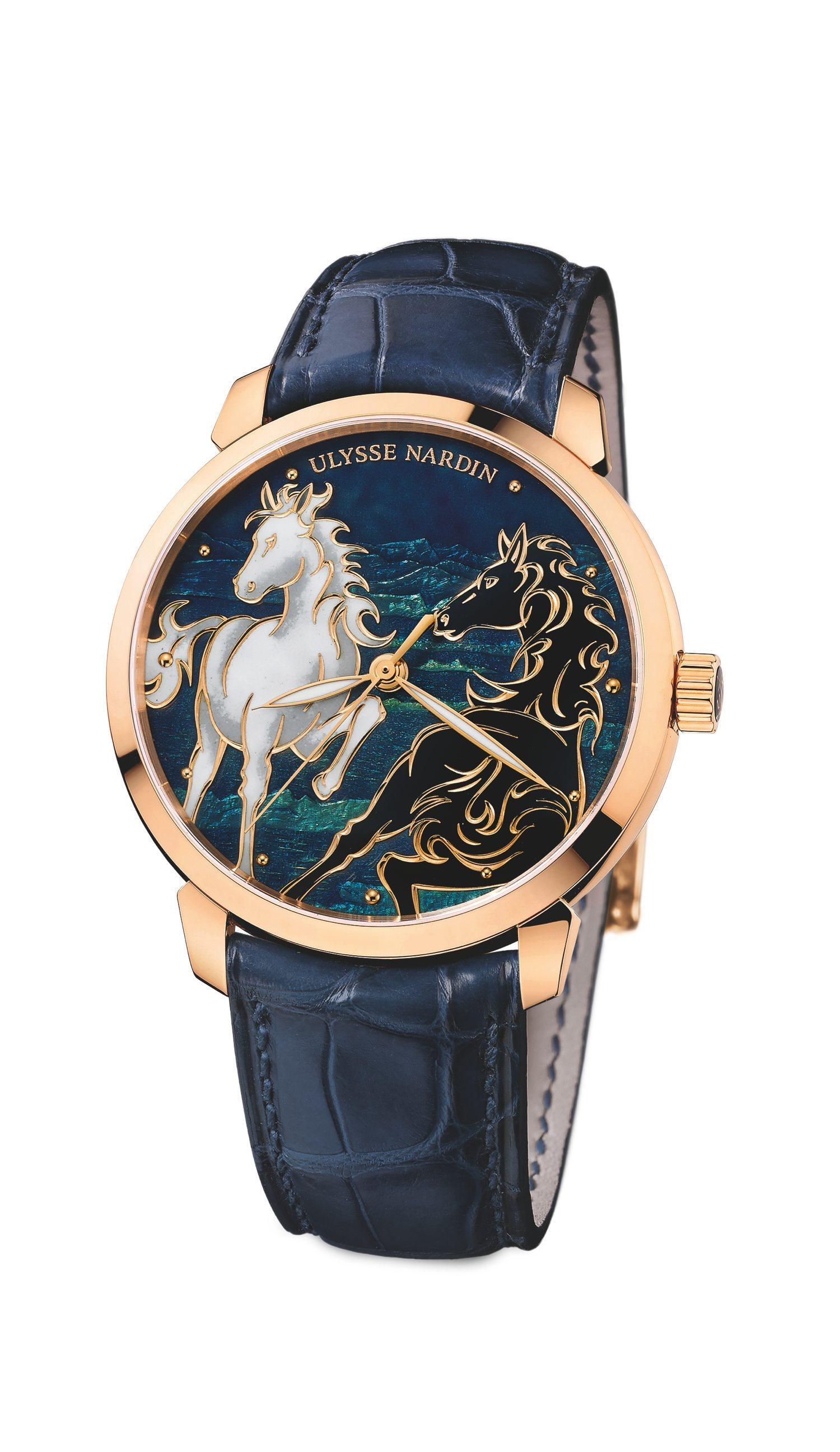 1339b9367a Novità Orologi 2014 Ulysse Nardin Classico Horse