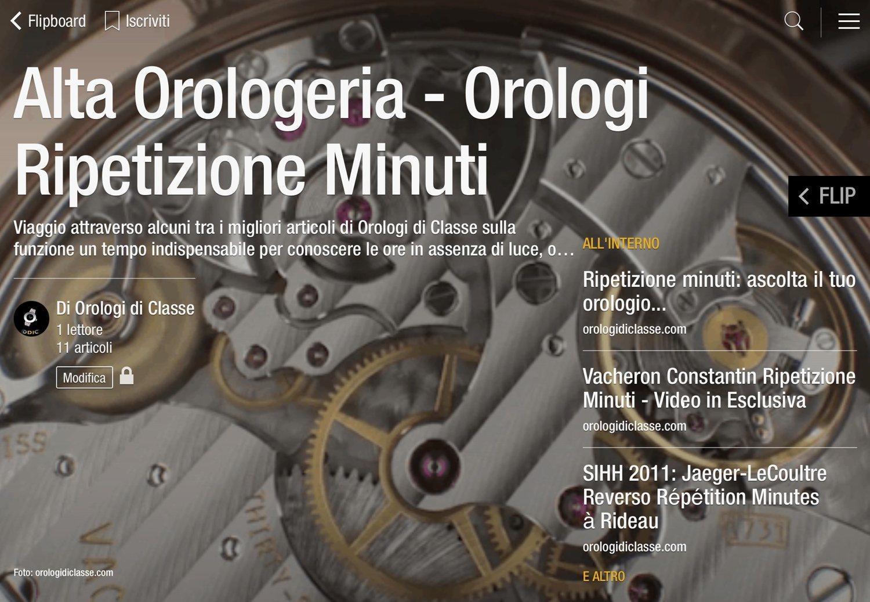Orologi di classe in formato riviste online naturalmente for Riviste arredamento on line gratis